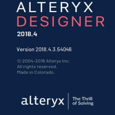 Alteryx Desinger 2018.4リニューアル トップ画面2